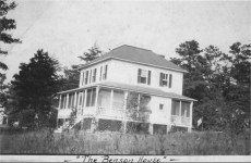Fred & Margeret Benson home