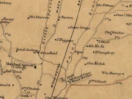 Yarrow area, 1861