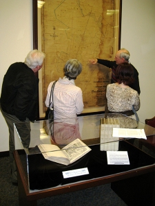 BHHC tours UMD archive