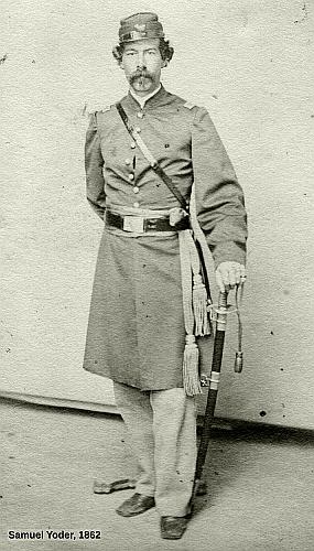 Samuel Yoder, Civil War Uniform