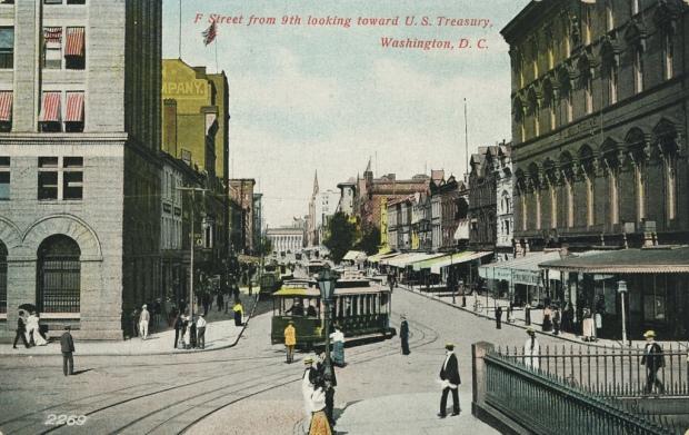 F Street 900 block, 1909