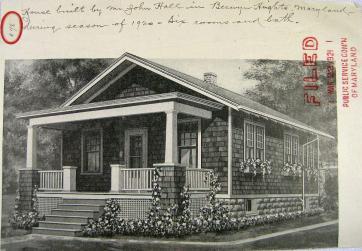 The Cedars in 1920 catalogue