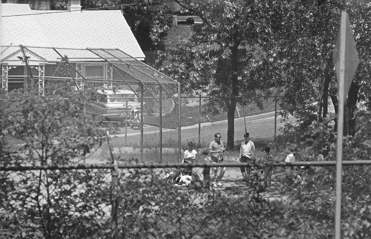 Berwyn Heights Elementary School base ball field, 1965