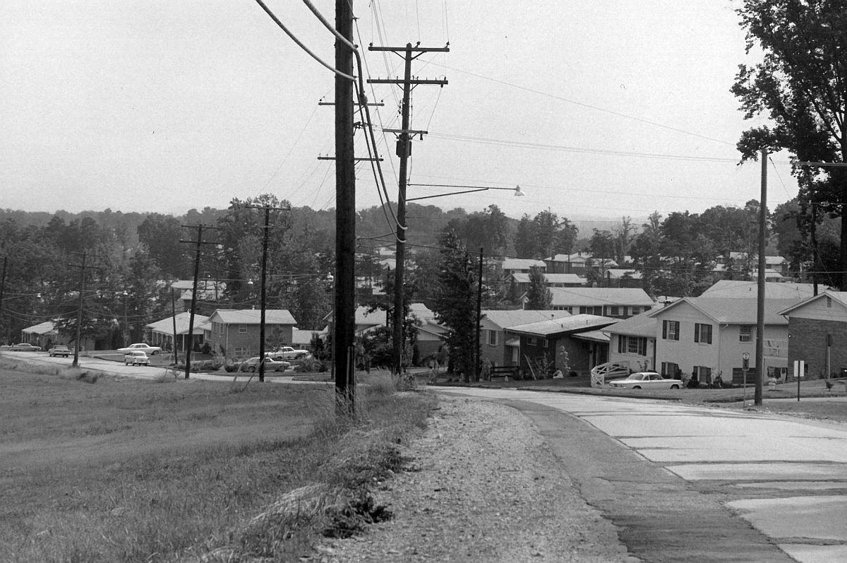 Edmonston Road at Berwyn Road, 1965