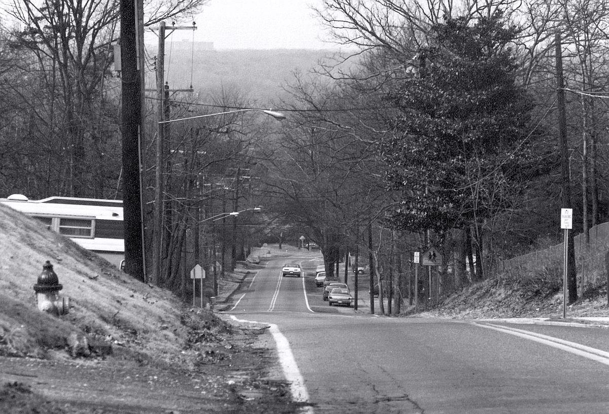 Pontiac Street at 60th, looking west, 1964